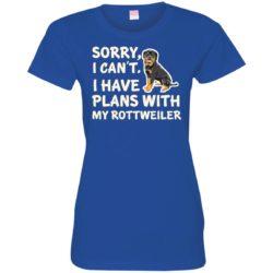 I Have Plans Rottweiler Ladies' Premium T-Shirt