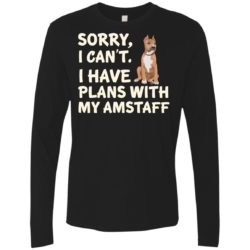 I Have Plans American Staffordshire Terrier Premium Long Sleeve Shirt