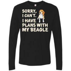 I Have Plans Beagle Premium Long Sleeve Shirt