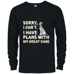 I Have Plans Great Dane Premium Crew Neck Sweatshirt