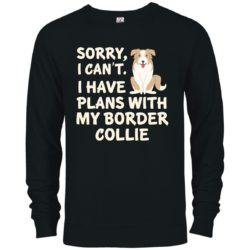I Have Plans Border Collie Premium Crew Neck Sweatshirt