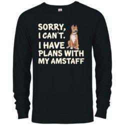 I Have Plans American Staffordshire Terrier Premium Crew Neck Sweatshirt
