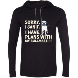 I Have Plans Bullmastiff T-Shirt Hoodie
