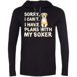 I Have Plans Boxer T-Shirt Hoodie