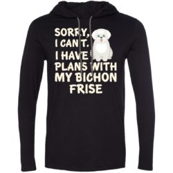 I Have Plans Bichon Frise Lightweight T-Shirt Hoodie
