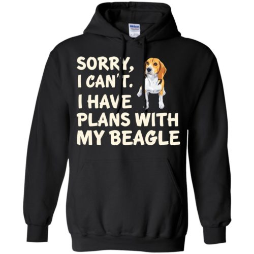 I Have Plans Beagle Pullover Hoodie