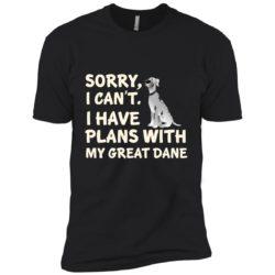 I Have Plans Great Dane Premium T-Shirt