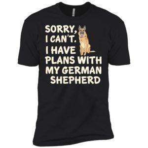 I Have Plans German Shepherd Premium Tee