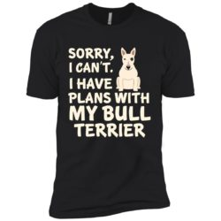 I Have Plans Bull Terrier Premium T-Shirt