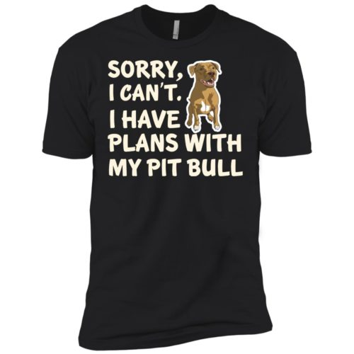 I Have Plans Pit Bull Premium Tee