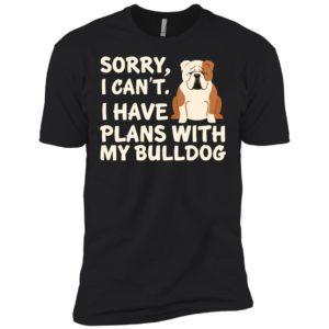 I Have Plans Bulldog Premium Tee