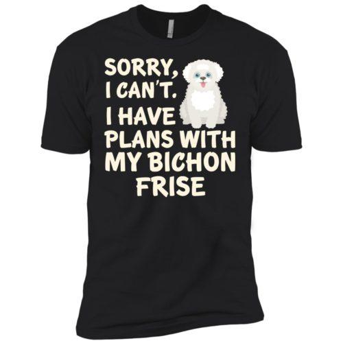 I Have Plans Bichon Frise Premium Tee