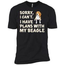 I Have Plans Beagle Premium T-Shirt