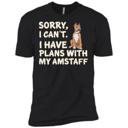 I Have Plans American Staffordshire Terrier Premium T-Shirt
