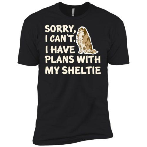 I Have Plans Sheltie Premium Tee