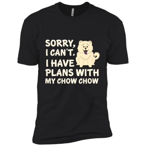 I Have Plans Chow Chow Premium Tee