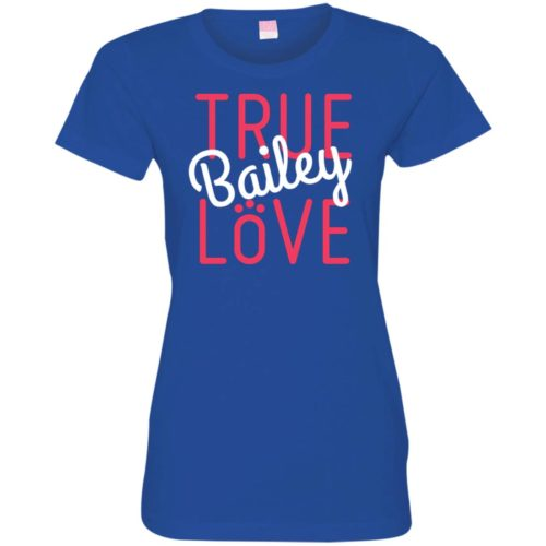 True Love Personalized Fitted Tee