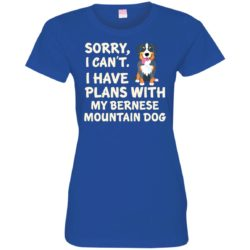 I Have Plans Bernese Mountain Dog Ladies' Premium T-Shirt
