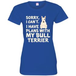 I Have Plans Bull Terrier Ladies' Premium T-Shirt