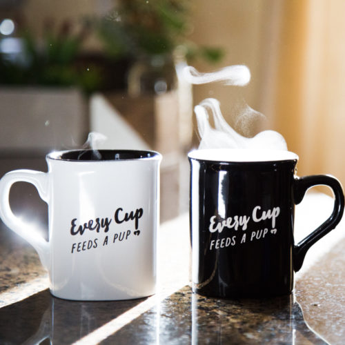 Limited Edition Every Cup Feeds a Pup® Coffee 12 oz Mug