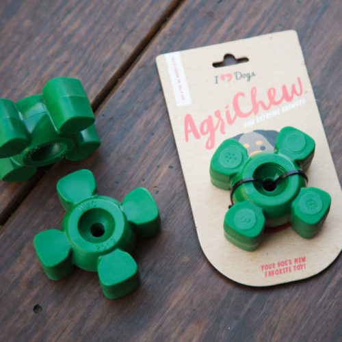 AgriChew™ - The Accidental, Industrial Strength Dog Toy for Extreme Chewers