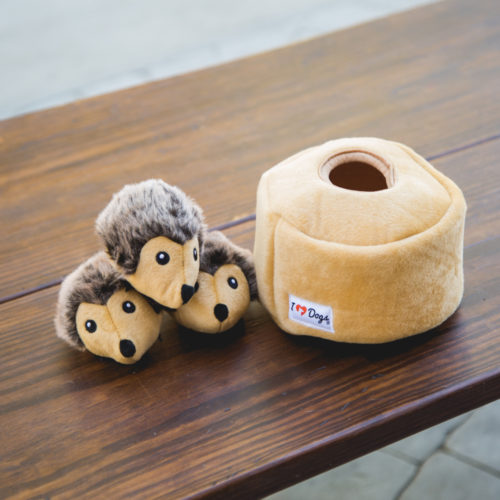 Hedgehog Hide & Hunt Puzzle Dog Toy