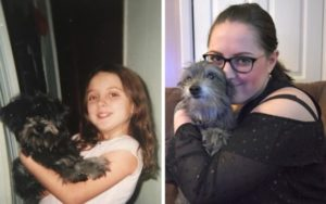Lady Unknowingly Adopts Her Childhood Canine 7 Years After They Had been Separated