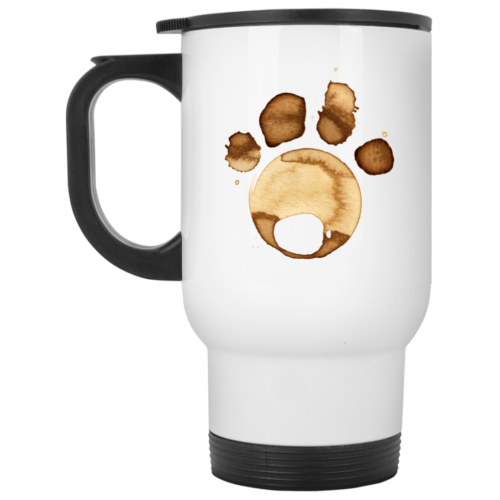 Coffee Paw Stainless Steel Travel Mug