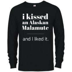 I Kissed An Alaskan Malamute Premium Crew Neck Sweatshirt