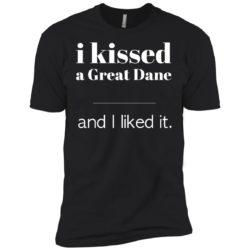 I Kissed A Great Dane Premium T-Shirt