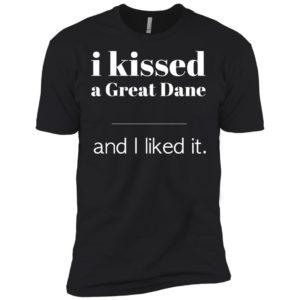 I Kissed A Great Dane Premium Tee