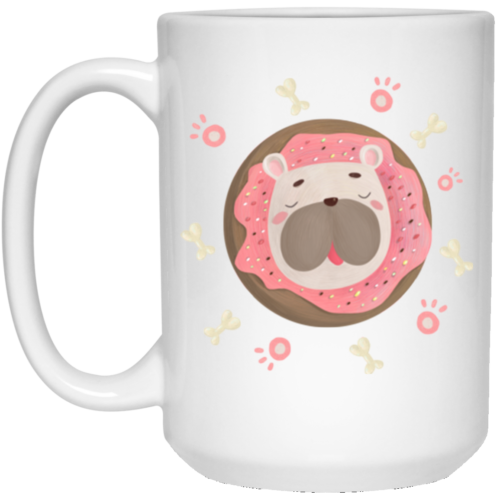 Donuts & Dogs 15 oz. Mug