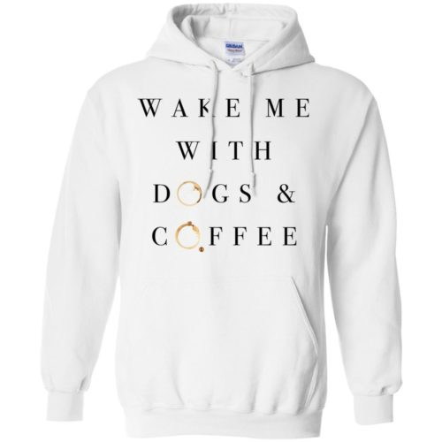 Wake Me With Pullover Hoodie