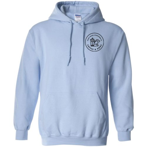 Sponsored By Coffee & Dogs Pullover Hoodie