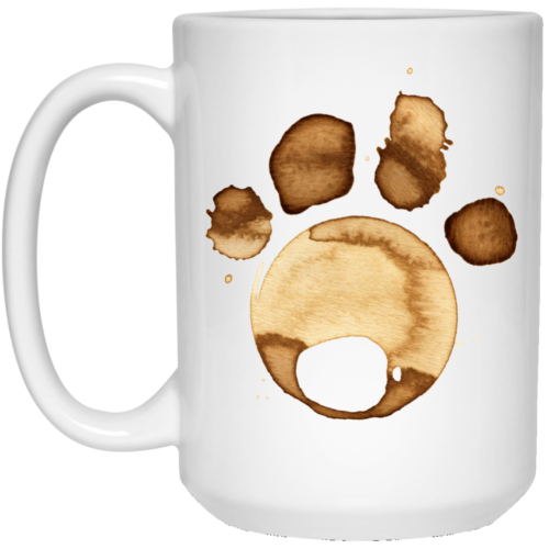 Coffee Paw 15 oz. Mug