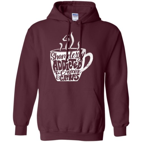 Shamelessly Addicted Pullover Hoodie