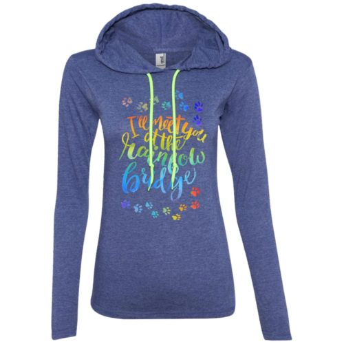 Rainbow Bridge Fitted T-Shirt Hoodie