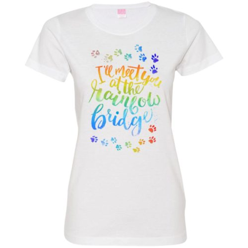 Rainbow Bridge Fitted Tee