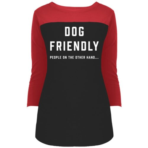 Dog Friendly Colorblock 3/4 Sleeve