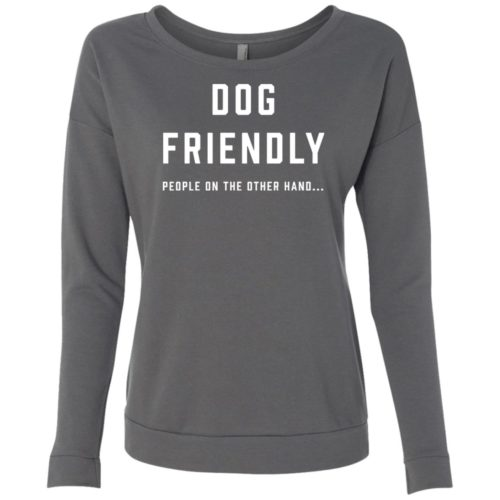 Dog Friendly Scoop Neck Sweatshirt