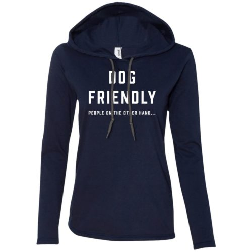 Dog Friendly Fitted T-Shirt Hoodie