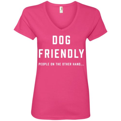 Dog Friendly V-Neck Tee
