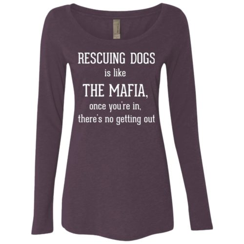 Mafia Fitted Scoop Neck Long Sleeve