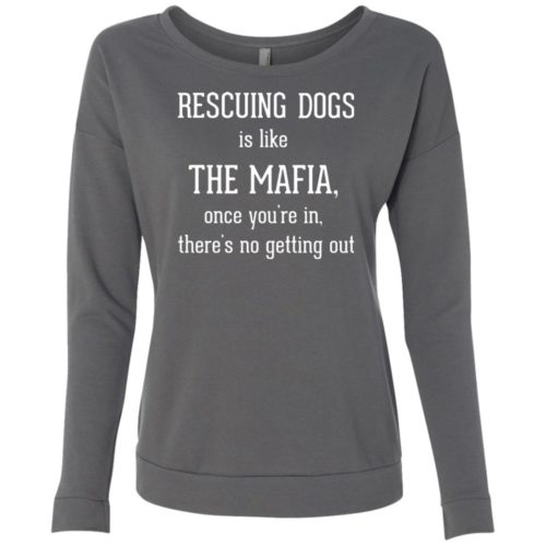 Mafia Scoop Neck Sweatshirt