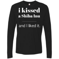 I Kissed A Shiba Inu Premium Long Sleeve Shirt