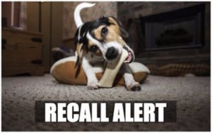 RECALL ALERT: Yesterday's Canine Deal with Recall Expanded Over Salmonella Issues