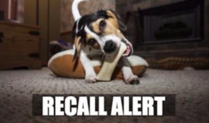 RECALL ALERT: Recall Expands To Complete 24 Canine Chew Merchandise