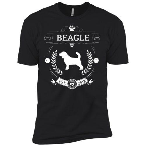 Varsity Beagle Premium Tee