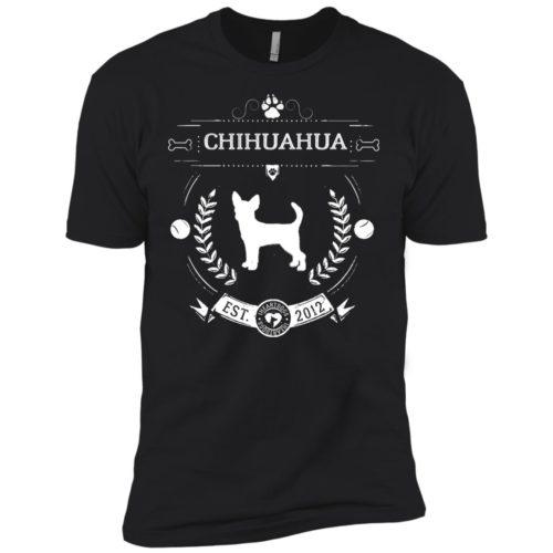 Varsity Chihuahua Premium Tee