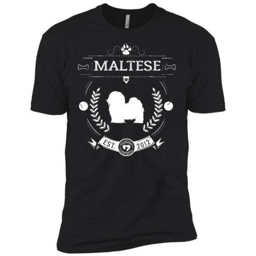 Varsity Maltese Premium Tee